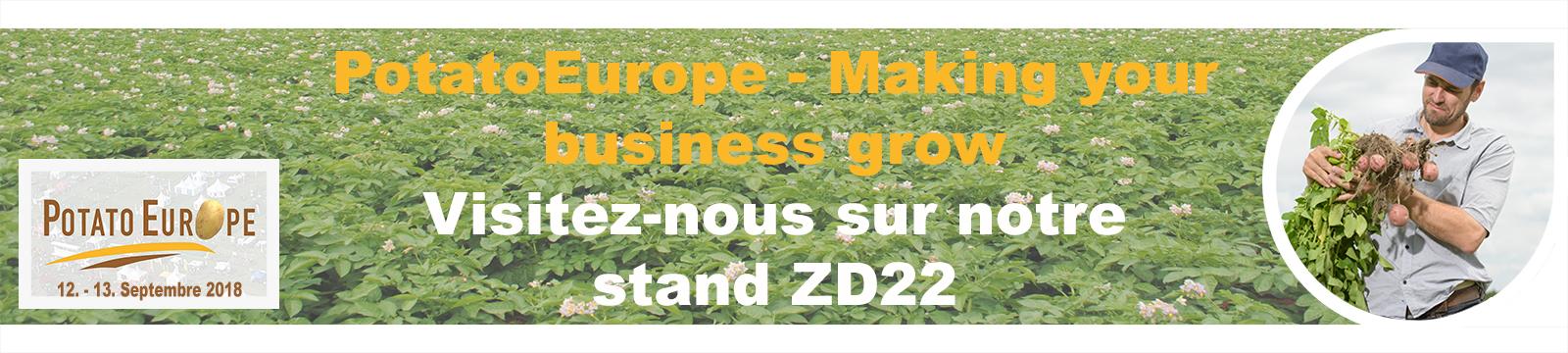 Tradecorp à Potato Europe 2018